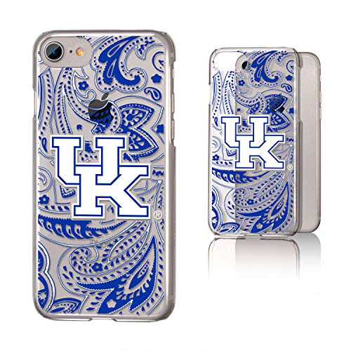 (Keyscaper UK Kentucky Wildcats Paisley Clear Case for iPhone 8/7 / 6 /#)