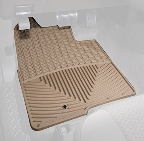 Front Mat Tan Weather (WeatherTech Trim to Fit Front Rubber Mats (Tan))
