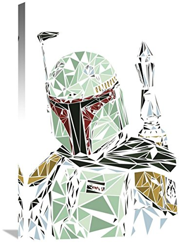 "Naxart Studio ""Boba Fett"" Giclee on canvas, 20"" by 1.5"" by 30"" from Naxart Studio"