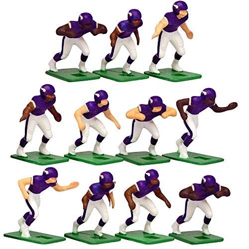 - Minnesota Vikings Home Jersey NFL Action Figure Set