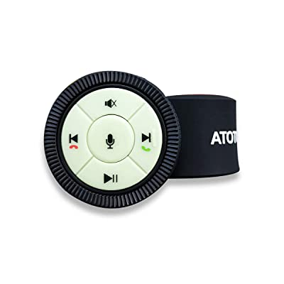 [Upgraded Version] Watchband Style Wireless Steering Wheel Control with Backlight Buttons AC-44F5(Upgraded from AC-44F4) - Only for Selected ATOTO Car Stereo Models: Car Electronics