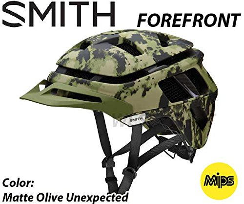 SMITH(スミス) (2018)【品名】FOREFRONT(Mips搭載)【カラー】Matte Olive Unexpected ヘルメット自転車 M(55-59cm)  B079D4KM14