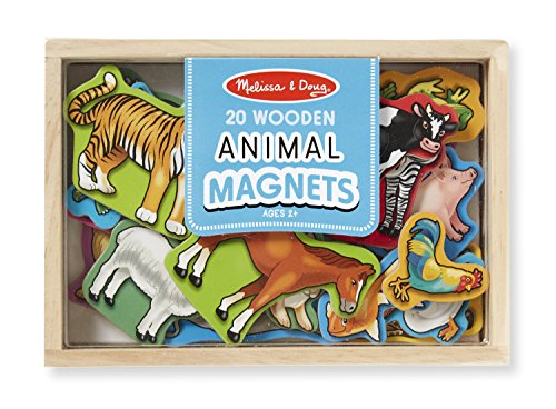51eq7sTYMiL - Melissa & Doug 20 Animal Magnets in a Box