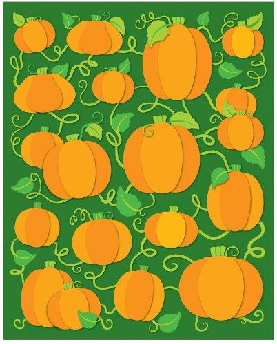 Carson Dellosa Pumpkins Shape Stickers 96Pk