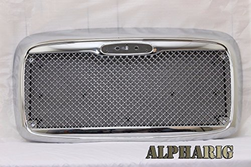 AlphaRig-2002-2011-FREIGHTLINER-COLUMBIA-CHROME-MESH-GRILL-WITH-BUG-SCREEN