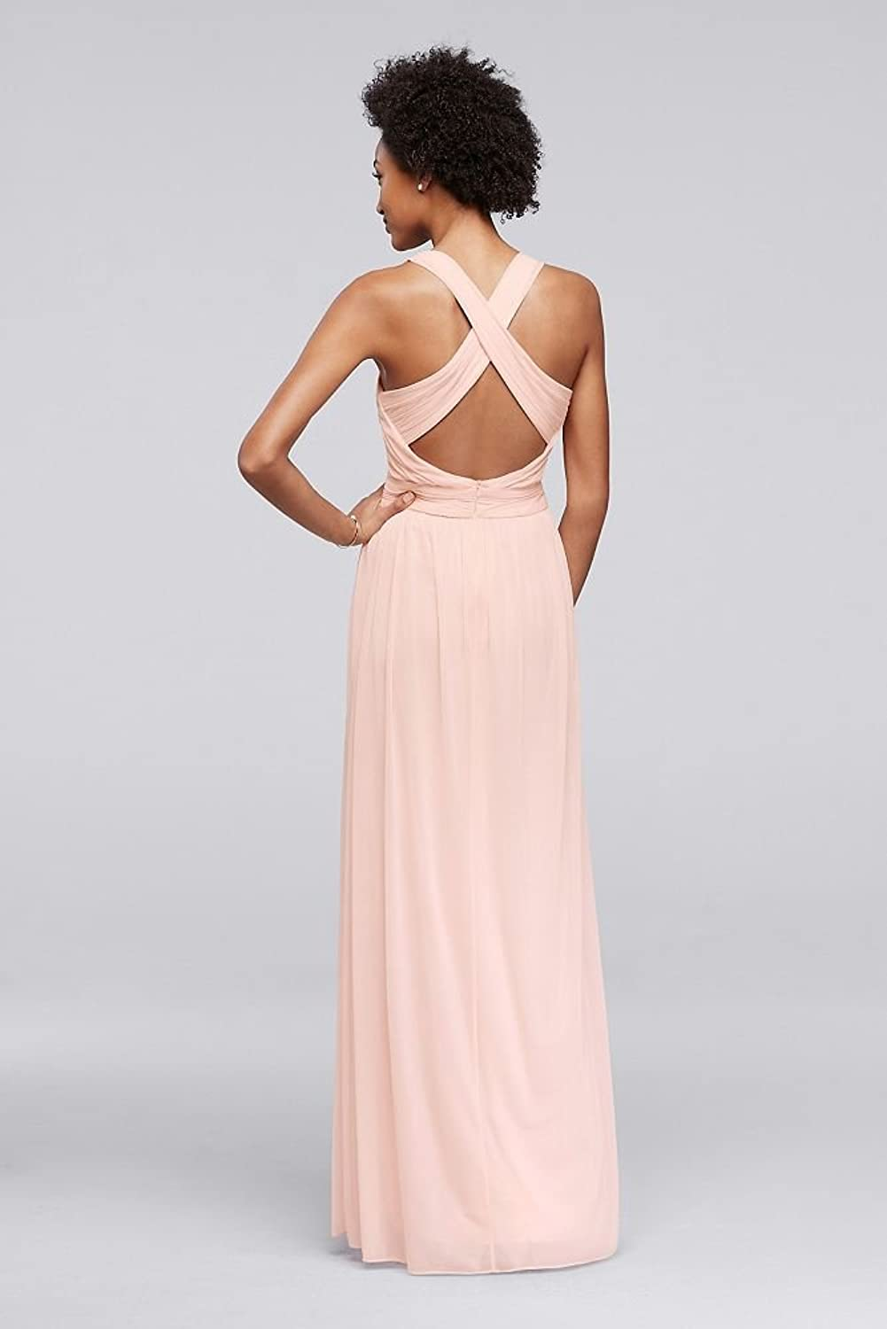 Davids bridal long bridesmaid dress with crisscross back straps davids bridal long bridesmaid dress with crisscross back straps style w10974 at amazon womens clothing store ombrellifo Gallery