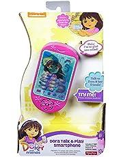 لعبة هاتف دورا الذكي توك اند بلاي من مسلسل دورا والاصدقاء، BHT51، من فيشر-برايس