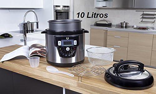 Robot de cocina de 10L GM Modelo E - Guiada por Voz - 10 LITROS: Amazon.es: Hogar