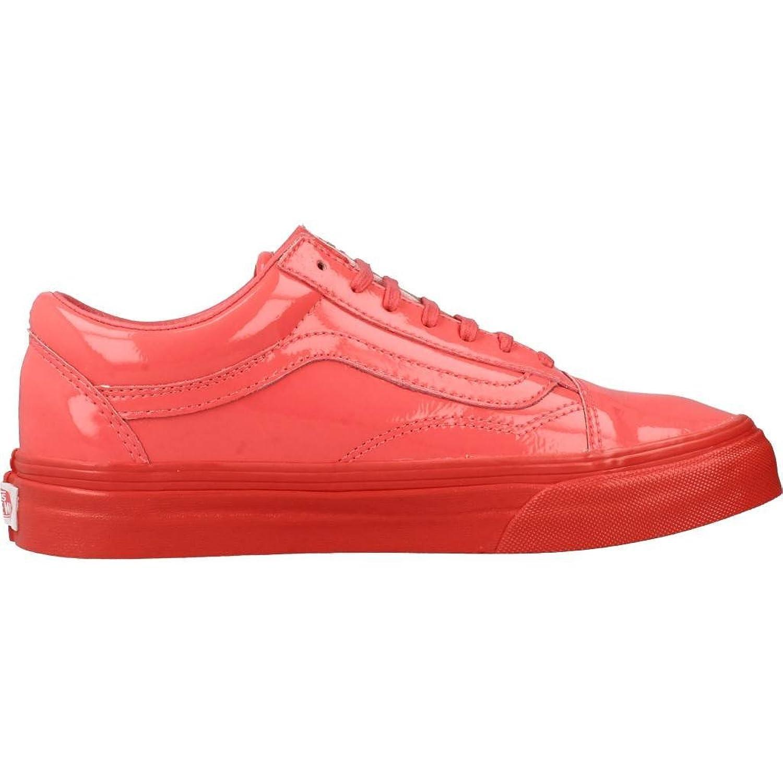 Wmn Old Skool Patent Lth. Coral Größe: 5(36,5) Farbe: Red Vans