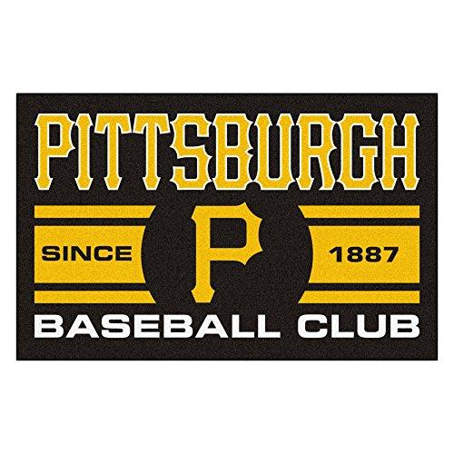 FANMATS 18480 Pittsburgh Pirates Baseball Club Starter Rug