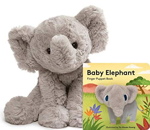 - GUND Cozys Collection Elephant Stuffed Animal Plush, Gray, 8