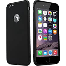 ZIYE iPhone 6/6s Case, Thinnest Cover Premium Ultra Thin Light Slim Minimal Anti-Scratch Protective - For Apple iPhone 6/6s (Black)