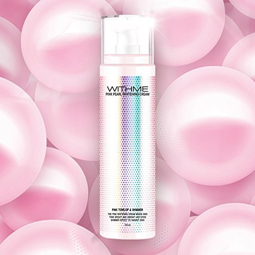 WITHME Pink Pearl Whitening Cream 4.73 oz [K-beauty] Color Correcting, Anti-Wrinkle, Moisturizing, Glowing, Whitening, Firming, All In One Cream