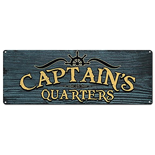 My Beer Cozy Captain's Quarters ~ Boater's Sign