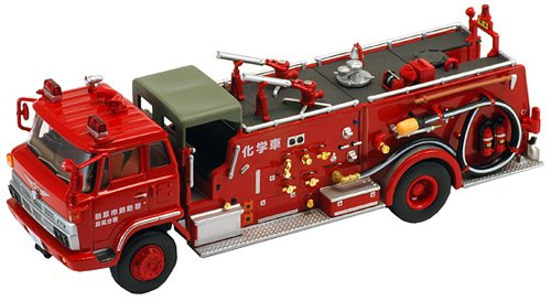 Tomytec Japan Tomica Limited Vintage Neo Lv-n36a Hino Kb324type Chemical Fire Engine Truck 1/64 (Vintage Fire Engine)