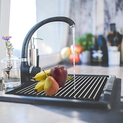厨房必备!Veego 不锈钢折叠水槽晾干架