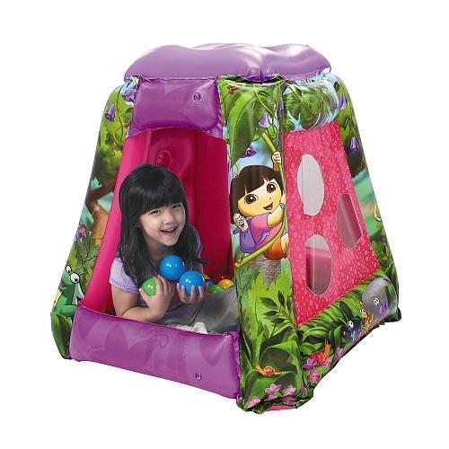 Dora the Explorer Inflatable Ball Playard (Ball Pit Ladybug)