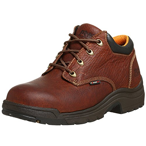 Timberland PRO Mens 47015 Titan Soft-Toe Lace-Up, Haystack Brown, 45 2E EU/10.5 2E UK