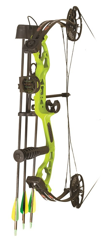 PSE 2018 Mini Burner Rts Package Lh 25'' 40 Lbs Lime Green