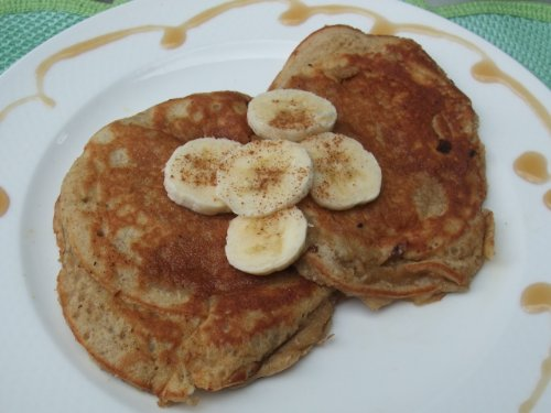 Vitamix Ultimate Stuffed Banana Pancake Recipe (Blendtec Recipe Kindle)