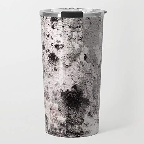 Society6 Stainless Steel Travel Coffee Mug, 20 oz, Blush Grunge by wallthreads