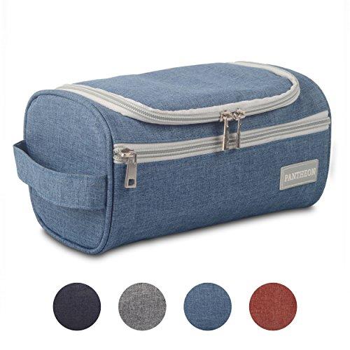 Hanging Blu (Pantheon Toiletry Organizer Wash Bag Hanging Dopp Kit Travel for Bathroom Shower)