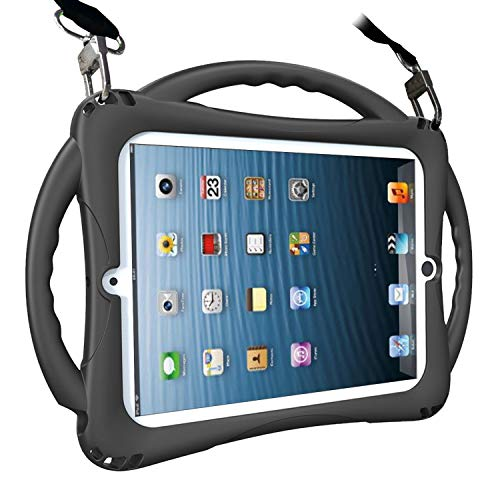 TopEsct iPad 2 Case for Kids. Soft Silicone Childproof Handle Stand Case for Apple iPad 2nd Generation,iPad 3rd Generation,iPad 4th Generation