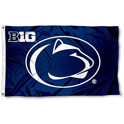 Penn State University Big 10 3x5 Flag (Ten Big Flags)