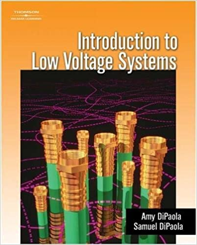 Introduction to low voltage systems amy dipaola sam dipaola introduction to low voltage systems 1st edition fandeluxe Gallery