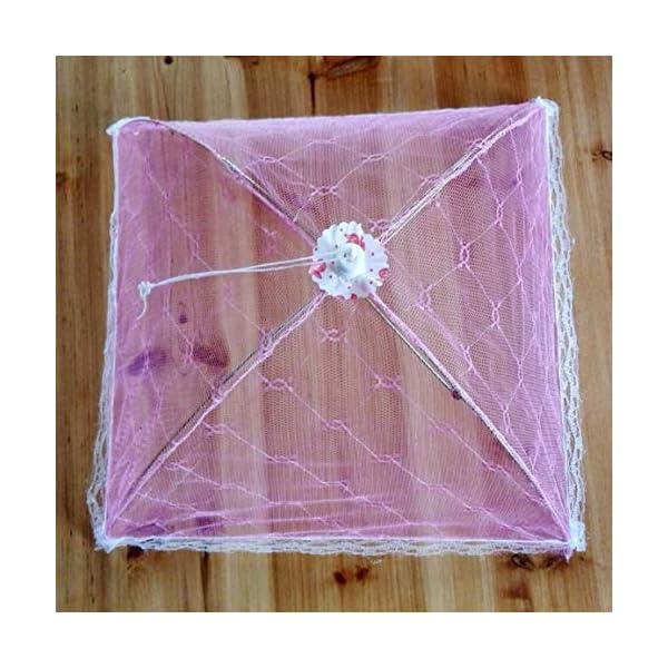 Ombrello Coperchi per alimenti Anti Fly Zanzara Pasto Coperchio Tavolo in pizzo Uso domestico Copertura per alimenti… 4 spesavip