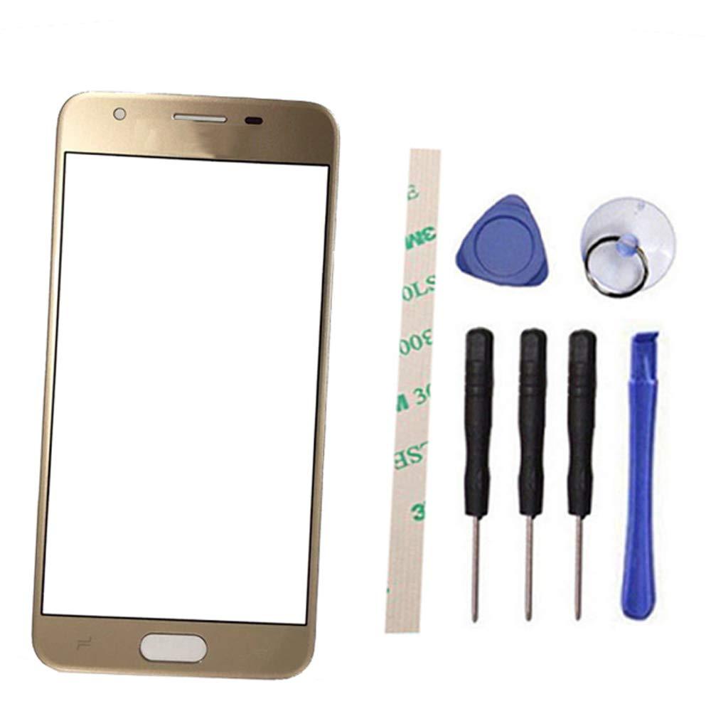Vidrio Frente para Samsung Galaxy J3 2018 dorado [DRAXLGON]