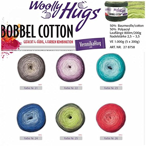 Par Lana Woolly Hugs Bobbel Coton 20 20 Amazonfr Cuisine Maison