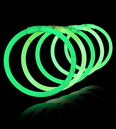 Lumistick 10 Inch Glow Sticks - Bendable Glow