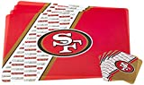 NFL San Francisco 49Ers Placemat Coaster Set