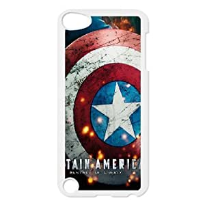 C-EUR Customized Print Captain America 2 Pattern Hard Case for iPod Touch 5