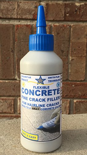 Bluestar Flexible Concrete Hairline Crack Filler (Gray) Concrete Crack Seal