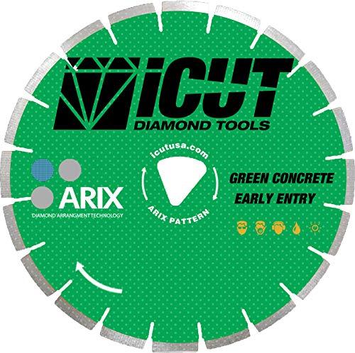 - Arix Early Entry Blade - Green Soffcut Arbor - Hard aggregate, non-abrasive sand (2000) (6