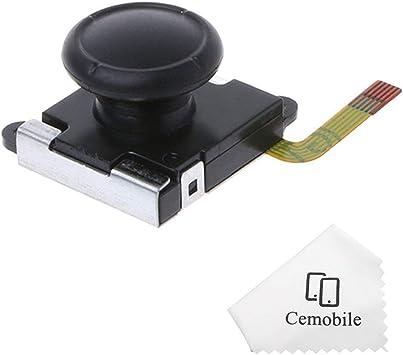 Cemobile - Palillos de Repuesto para Mando de NS Nintendo Switch Joy-con con con Sensor analógico 3D Izquierdo y Derecho: Amazon.es: Electrónica