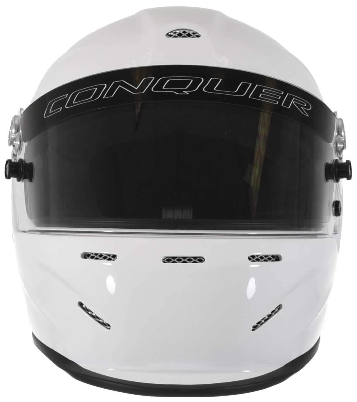 Conquer Snell SA2015 Aerodynamic Vented Full Face Auto Racing Helmet by Conquer (Image #2)