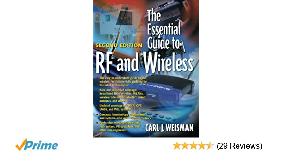 The essential guide to rf and wireless 2nd edition carl j the essential guide to rf and wireless 2nd edition carl j weisman 9780130354655 amazon books fandeluxe Choice Image