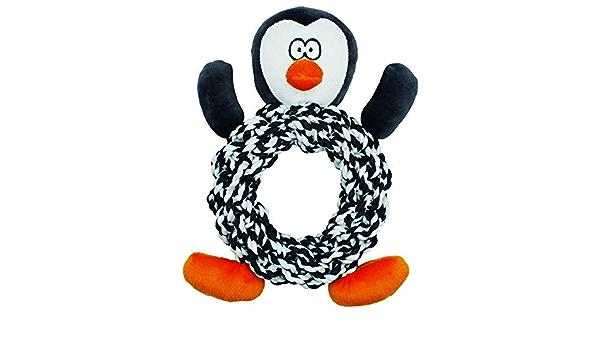Knottie Penguin Christmas Dog Toy