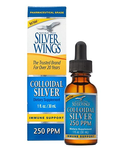 Natural Path Silver Wings Colloidal Silver Supplement