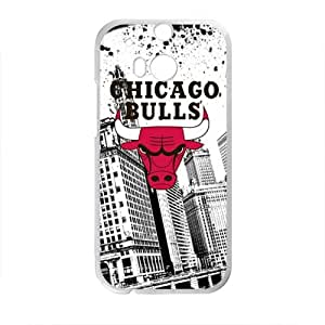 Chicago Bulls Brand New And Custom Hard Case Cover Protector For HTC One M8