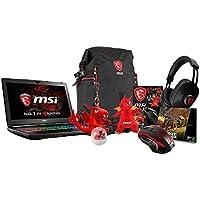 MSI GT62VR DOMINATOR-240 15.6 Gaming Laptop: Core i7-7700HQ (Kaby Lake), GTX1060 6G GDDR5, 16GB DDR4, 256GB SSD + 1TB HDD, VR Ready, Windows 10 + Gaming Bundle