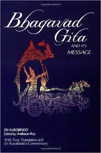 bhagavad gita and its message aurobindo pdf