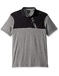 4040f9067 A X Armani Exchange Mens Two Toned Short-Sleeve Polo Shirt Polo Shirt