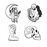 MeliMe Ghost Brooch Pin Cute Cartoon Brooches Lapel Pins Badge (Style 5)