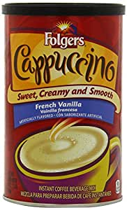 Folgers French Vanilla Cappuccino Mix
