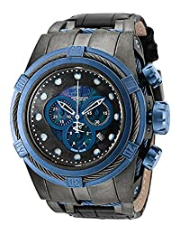 Invicta Mens Reserve Bolt ZEUS Swiss Made Industrial Distressed GM & Blue IP Watch 18460