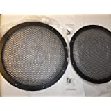 Pair 12 Inch Classic Beehive High Excursion Subwoofer Speaker Grills